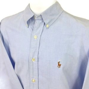 RALPH LAUREN YARMOUTH. CLASSIC FIT L/S BUTTON UP